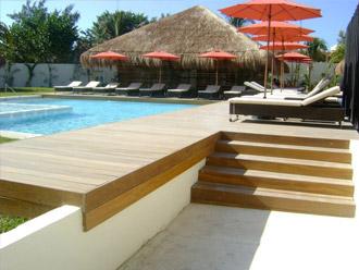 deck riviera maya madera