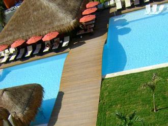 instalacion deck riviera maya